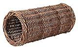 Weidentunnel für Kleintiere, für Kaninchen (Durchmesser 20 cm/Länge 38 cm)
