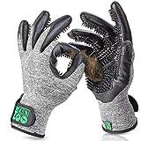 DR Zoo Gr. L Fellpflegehandschuh Paar zur Fellpflege - Handschuh für Hund, Katze, Pferde und Kaninchen