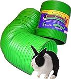 Snuggle Safe Flexibler Allwetter-Kaninchengehege-Tunnel