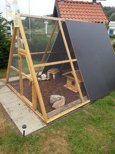 Pyramidengehege für Kaninchen