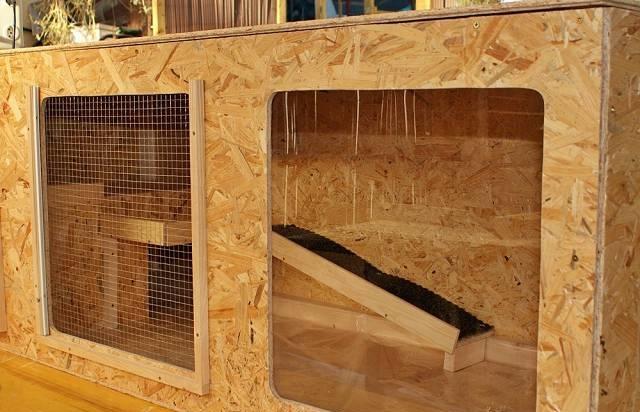 Kaninchen Außenhaltung Schutzhütte